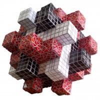 Cube | Sculptuur met glasmozaïek