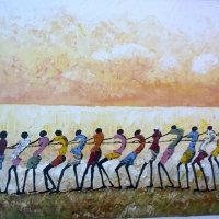 Togetherness | Olieverf op doek
