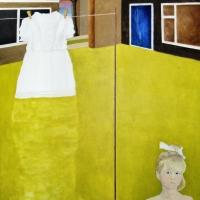 Het jurkje | 2012 | Olieverf op doek