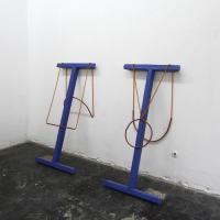 möglich, foto© Stefan Ruissen | 2013 | Touw, koper, hout, tapijt, PVC, vloeibaar plasti