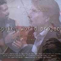 Spoken world project | 2011 | Video installatie