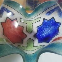 Moors schaaltje | Gefused glas