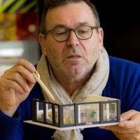 Peter Dautzenberg met interieur
