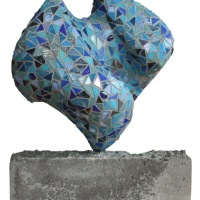True Blue | Glas Mozaiëk