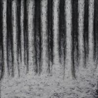Black Snow | 2013 | Acryl modelleerpasta, acrylverf op karton