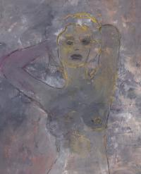 You are beautiful – acrylic and gouache on paper 2012